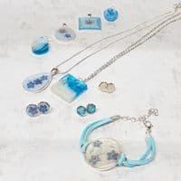 Beginners Fab Florals Resin Jewellery Kit